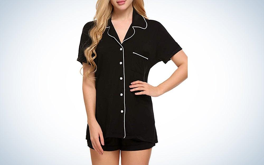 Ekouaer Short Pajama Set