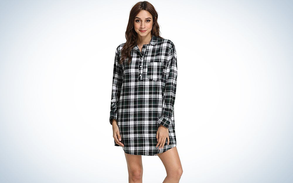 Latuza Flannel Nightshirt