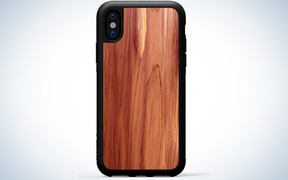 Carved Eastern Red Cedar Case