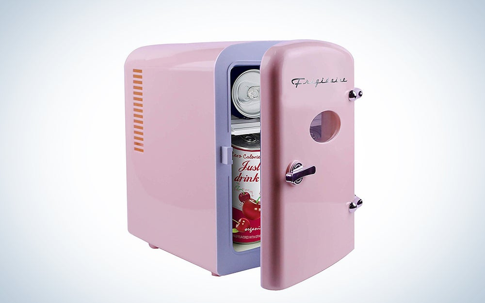 Frigidaire Retro Mini Compact Beverage Cooler