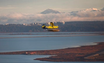 Watch an electric seaplane take to the skies for the first time