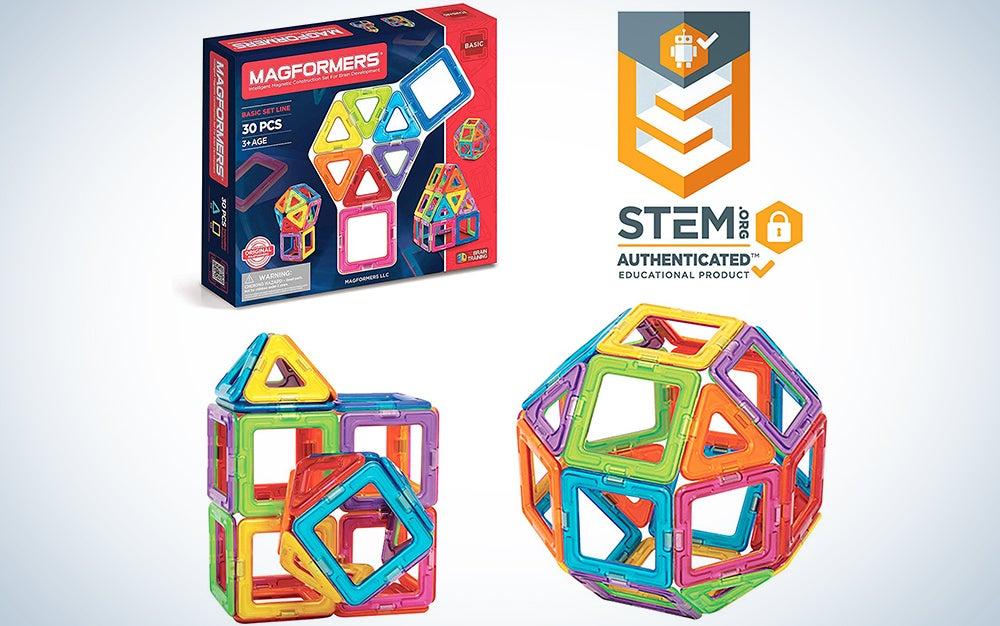 Magformers Basic Set magnetic building blocks