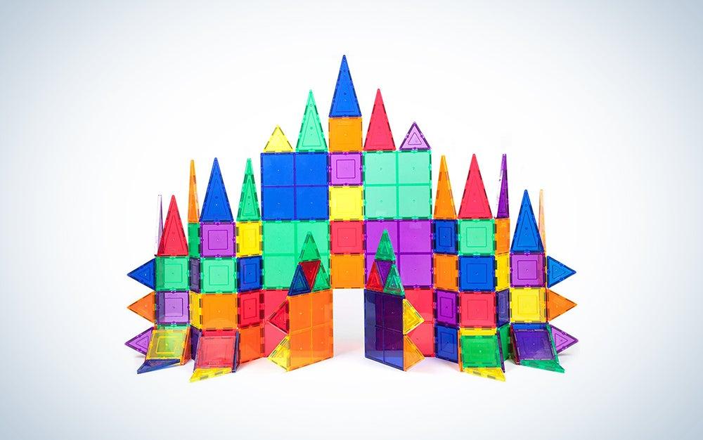 PicassoTiles 100 Piece Magnet Building Tiles
