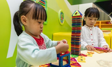 Magnetic building toys for creative kids