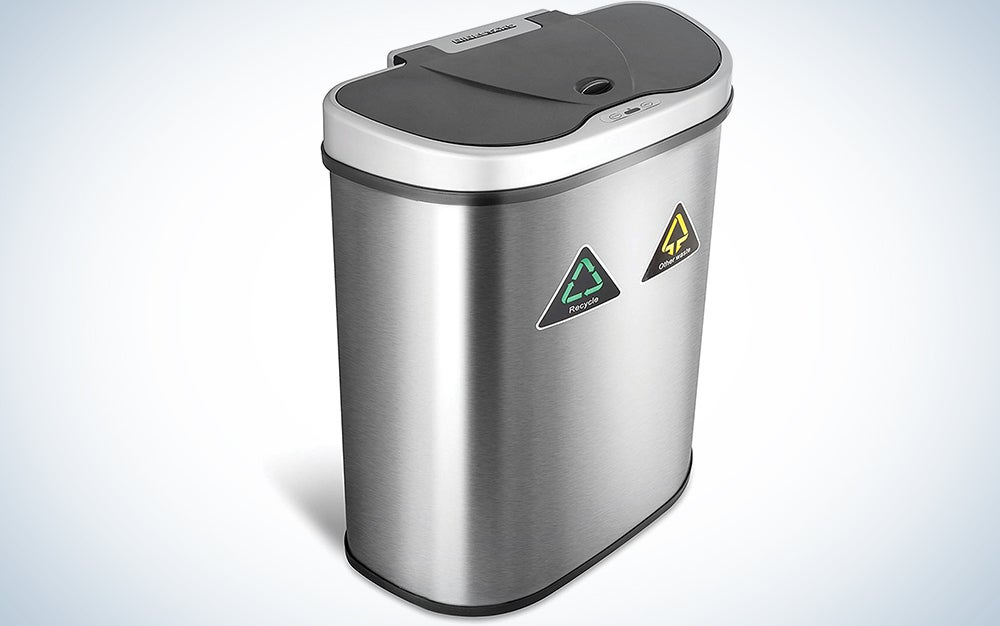 Ninestars Automatic Trash Can / Recycling Bin