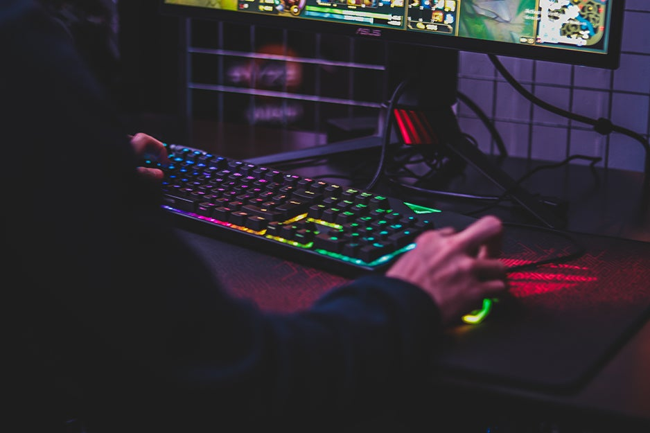LED gaming gear