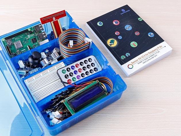 Complete Raspberry Pi 3B+ Starter Kit & Course Bundle