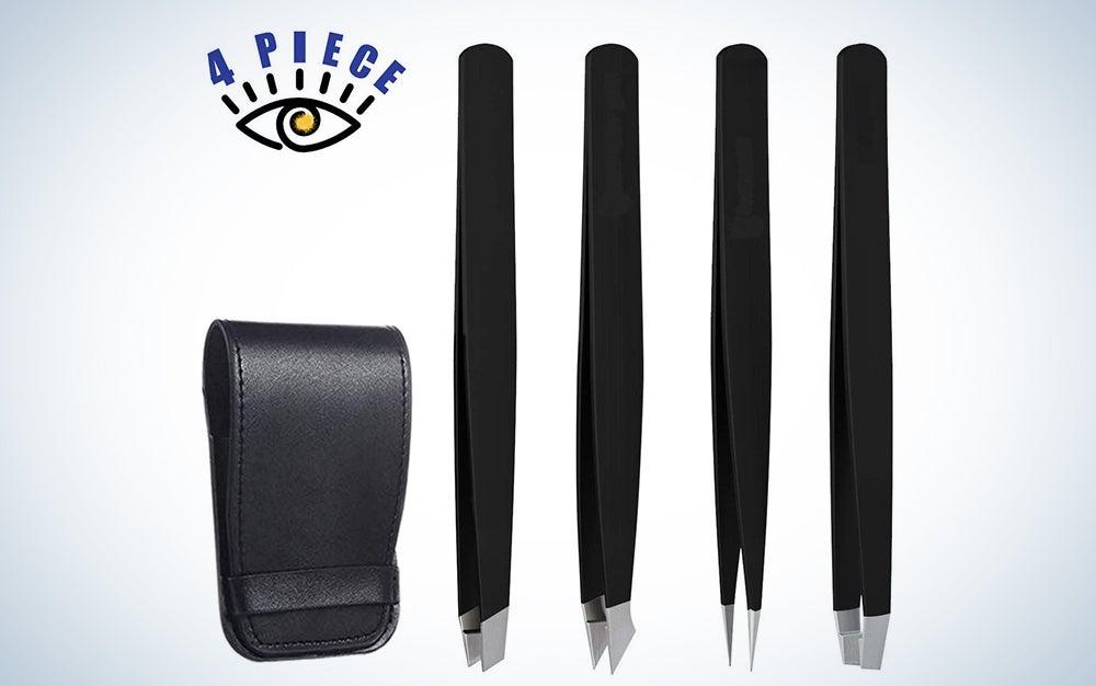 RoosterCo Eyebrow Tweezer Set