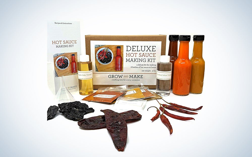 DIY Artisan Hot Sauce Making Kit