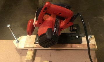 Save space and money with this chop saw conversion project