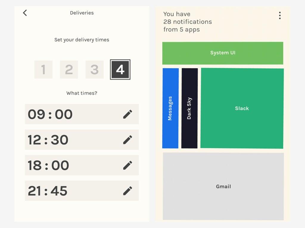 Screenshot of Post Box app