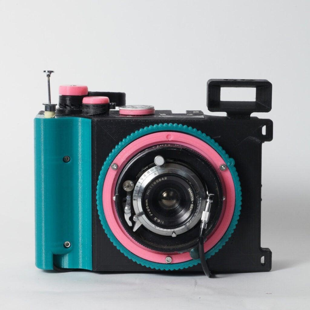 Brancopan 3d printed camera