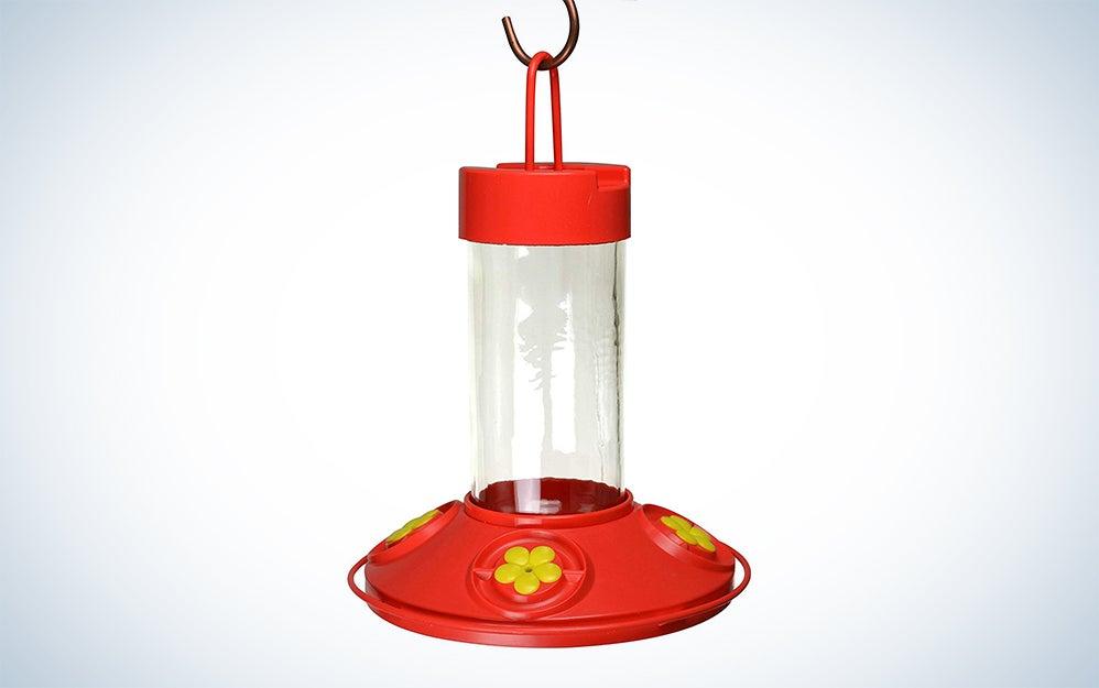 First Nature 3090 32-ounce Hummingbird Flower Feeder