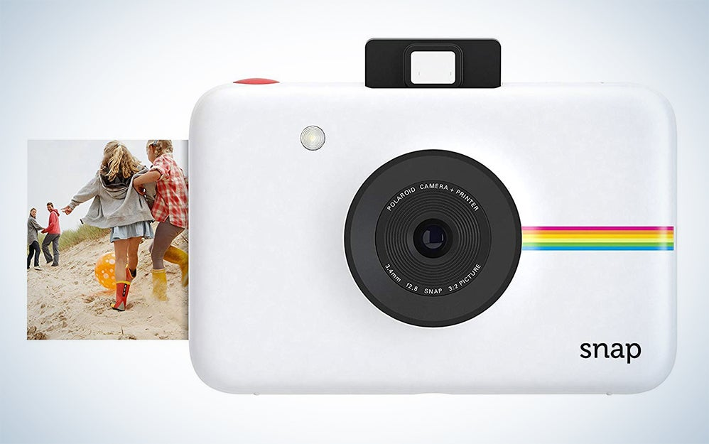 Zink Polaroid Snap Instant Digital Camera (Blue) with ZINK Zero Ink Printing Technology