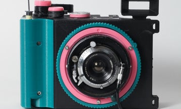 Cameradactyl is a 35mm panoramic camera you can build yourself