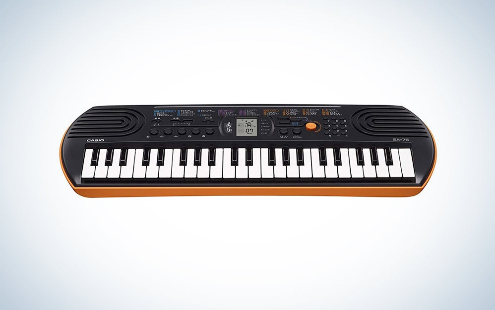 Casio SA-76 44-Key Mini Personal Keyboard