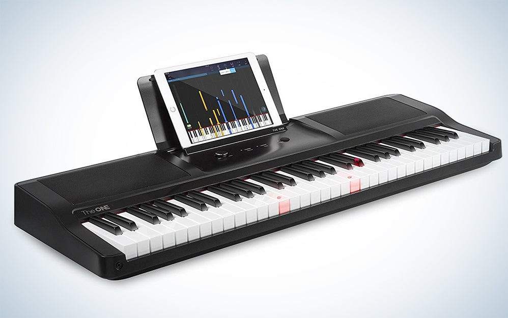 The ONE Smart Piano with Light-Up Keys