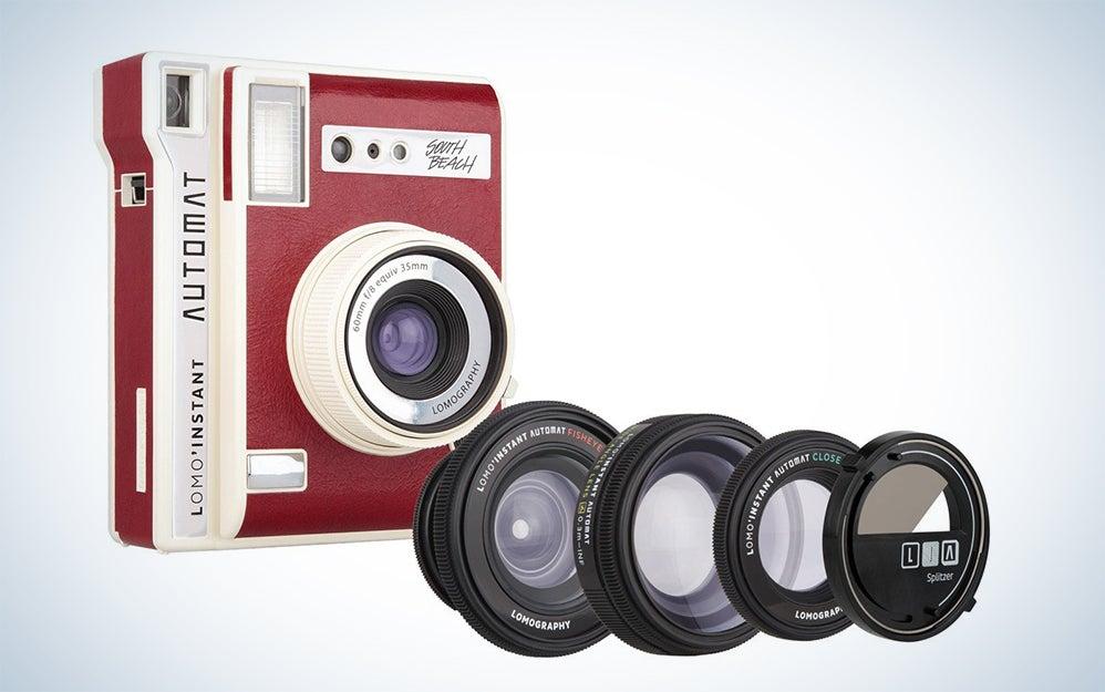 Lomography Lomo'Instant Automat Bora Bora & Lenses - Instant Film Camera Brand: Lomography