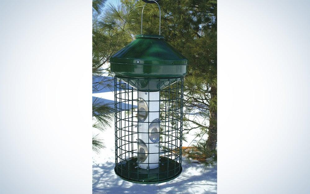 Varicraft AV5M Avian Wild Bird Mixed Seed Feeder with Cage