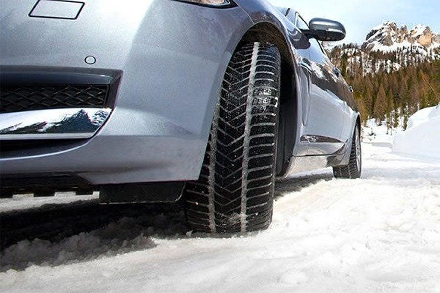 Winter tires snow