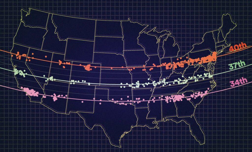 America's UFO highway