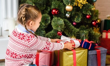 Can't shower your kids with gifts this year? That might be for the best.