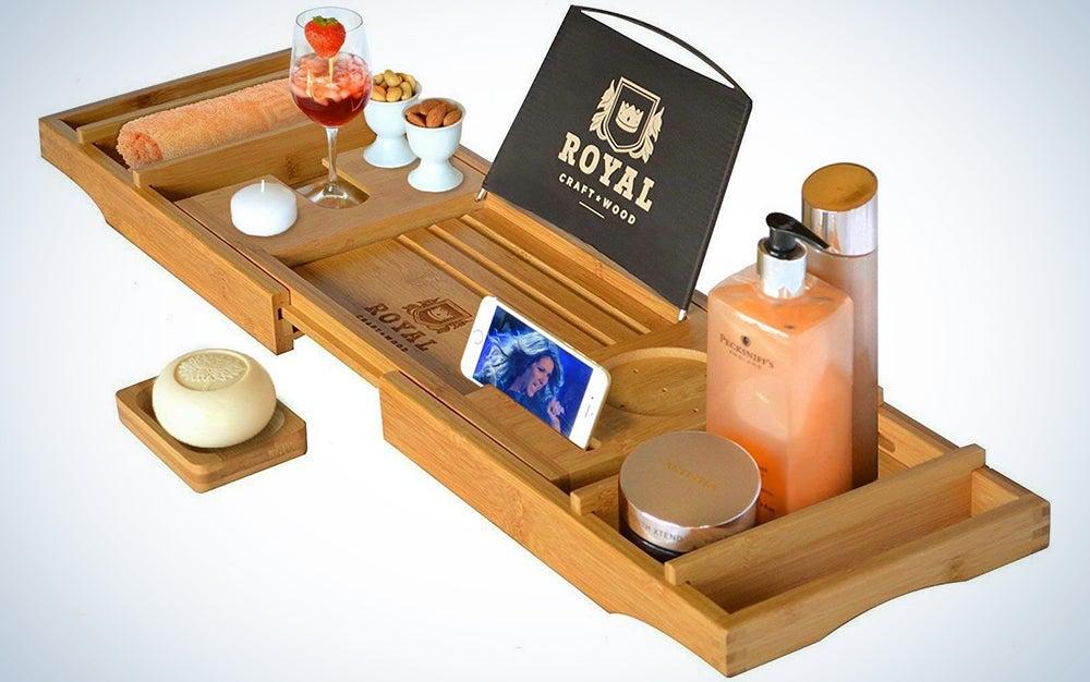 Royal Craft Luxury Bathtub Caddy Tray