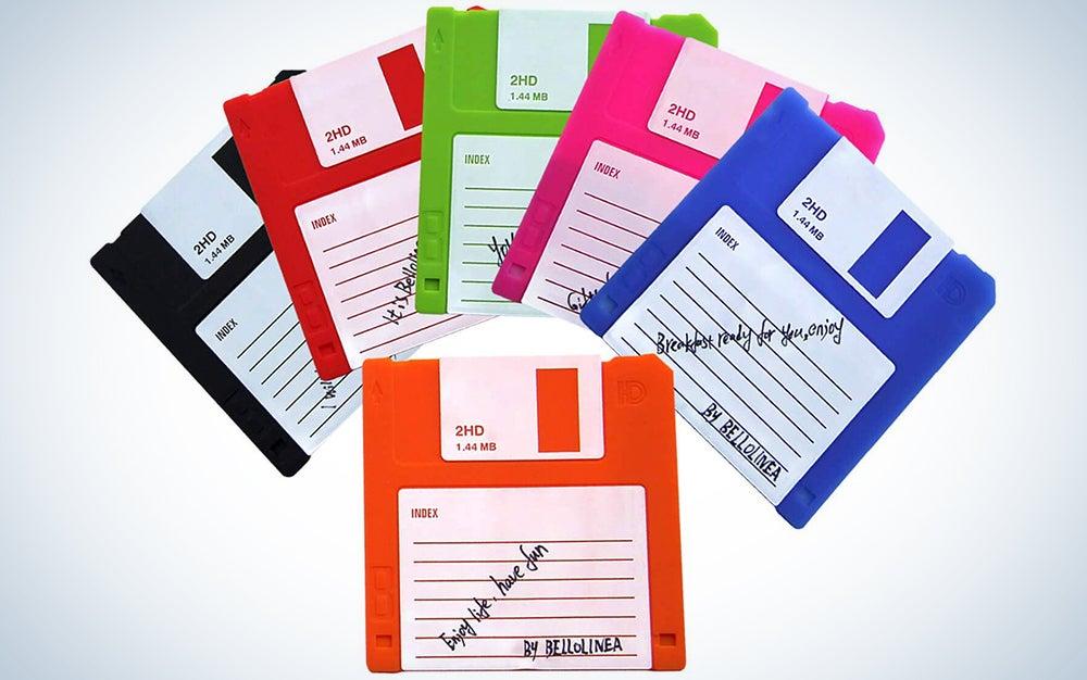 Bellolinea Floppy Disk Coasters