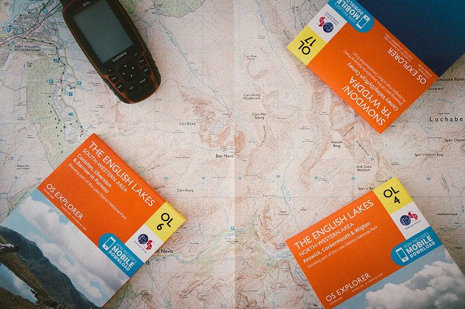 handheld gps and maps