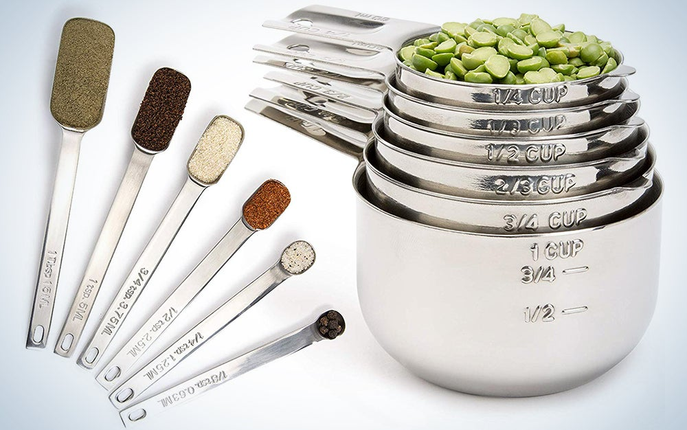 Simply Gourmet Measuring Cups and Measuring Spoons Set