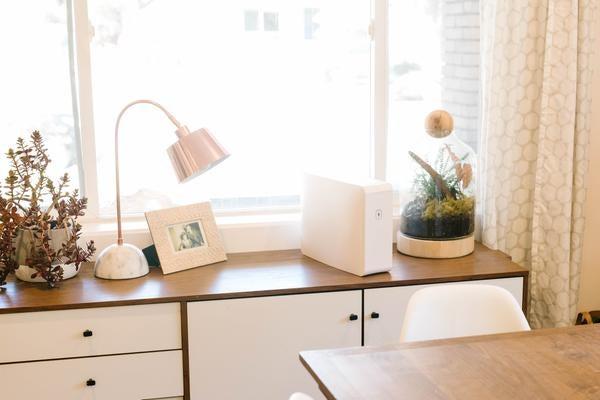 HomeSoap on a dresser