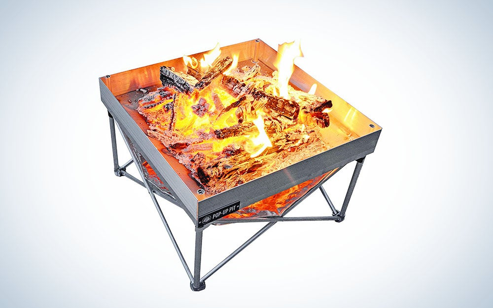 Fireside Outdoor Pop-Up Fire Pit | Portable and Lightweight