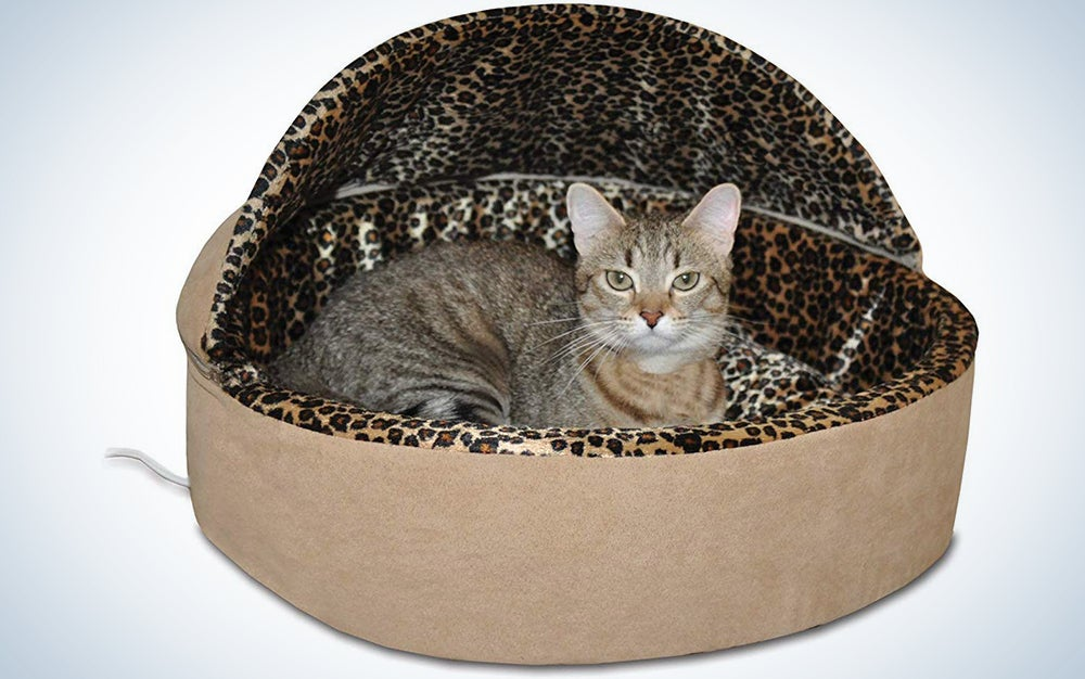 K&H Thermo-Kitty Heated Deluxe Cat Bed