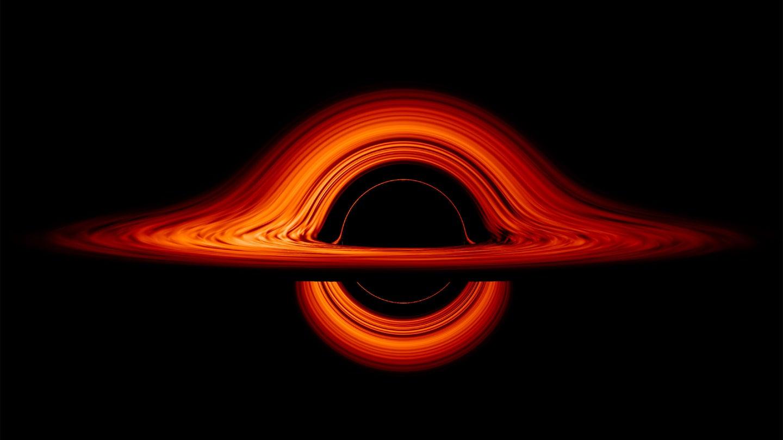 NASA black hole simulation