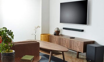 Sound bars for space-saving audio excellence