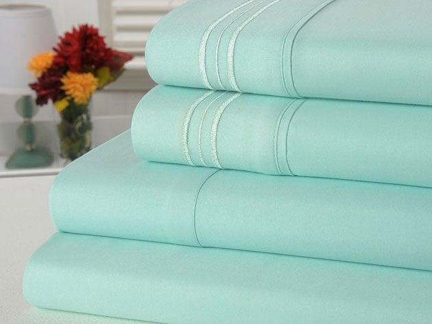 Bamboo Comfort 4-Piece Luxury King Sheet Set