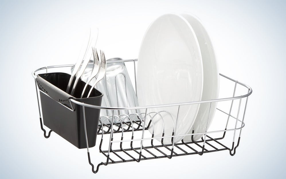 Deluxe Chrome-plated Steel Small Dish Drainers