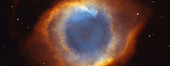 an image of the helix nebula