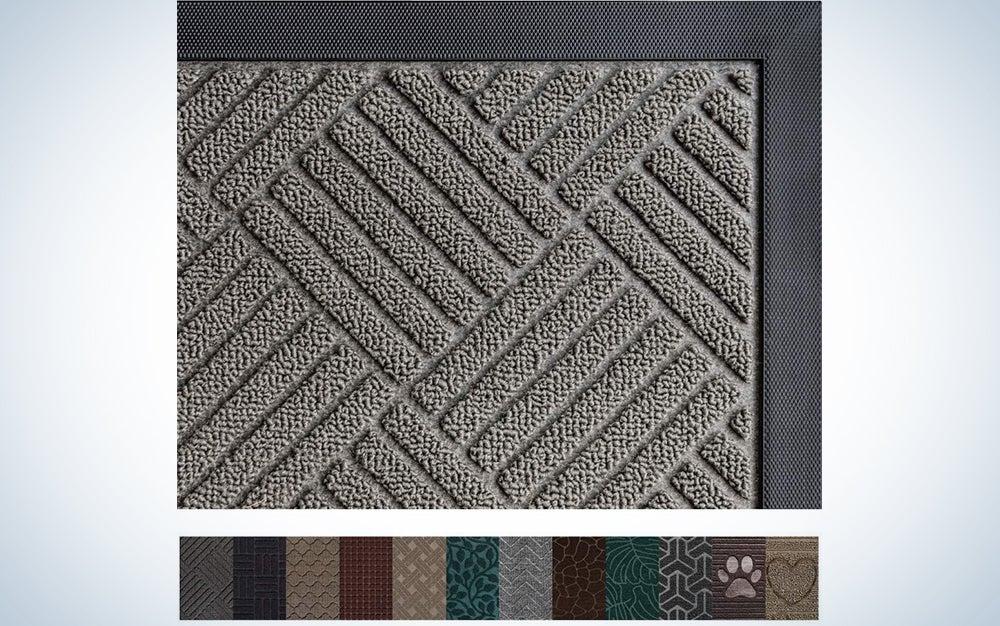 Gorilla Grip Original Durable Natural Rubber Door Mat