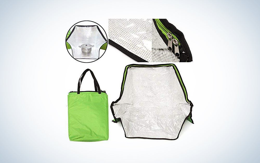 Green Portable Solar Oven Bag Cooker Sun Outdoor Camping Travel Emergency Tool for Cooking Oven Tools Mayitr