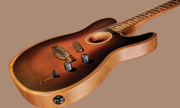 Fender made a hybrid guitar that can imitate a trailer full of instruments
