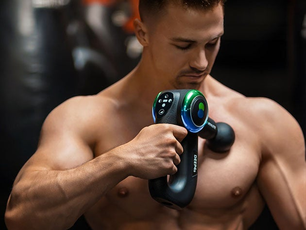 DEEP4s Percussive Therapy Massage Gun for Athletes