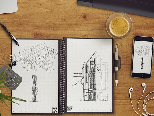 Rocketbook Wave Executive Smart Notebook