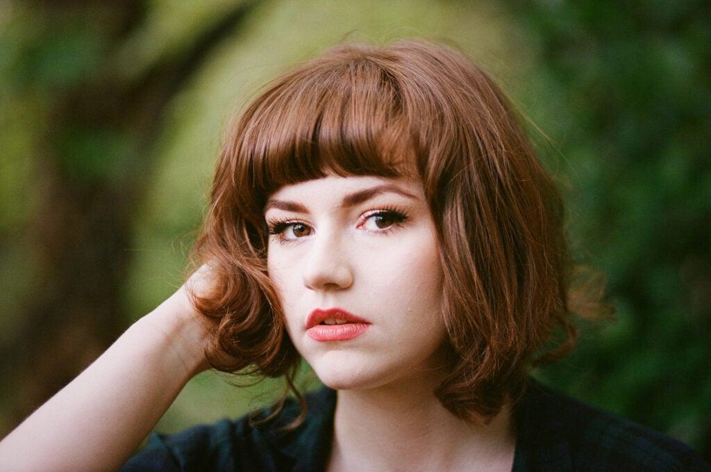 Person posing for a portrait