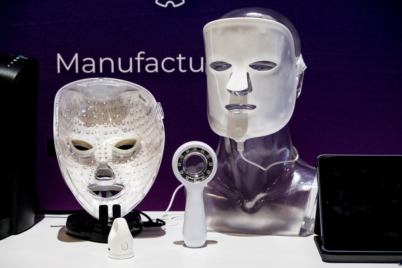 horror masks skin treatement