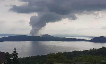 The volcano erupting in the Philippines could be building up to another explosion