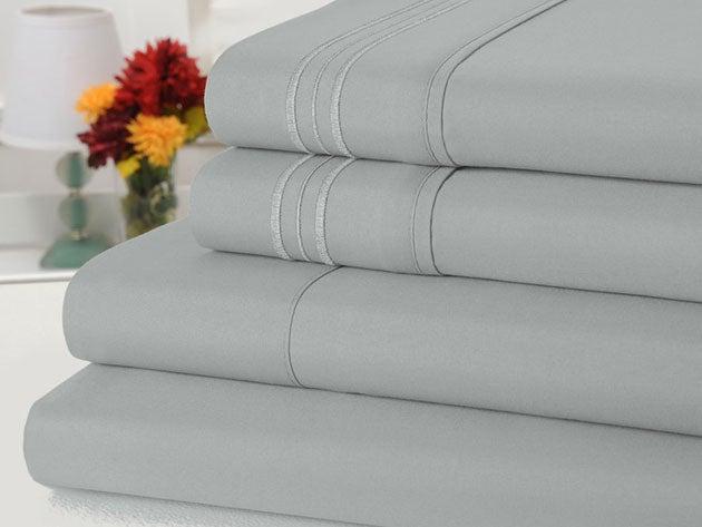 Bamboo Comfort 4-Piece Luxury Queen Sheet Set