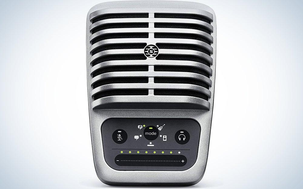 Shure MV51 Digital Large-Diaphragm Condenser Microphone + USB, Lightning & USB-C Cable