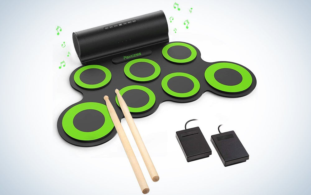 Paxcess Roll-Up Electronic Drum Set