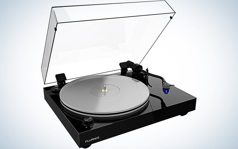 Fluance RT85 Reference High Fidelity Vinyl Turntable Record Player with Ortofon 2M Blue Cartridge